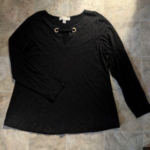 Michael Michael Kors Black Top Size 2X